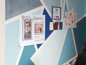 The Main Presentation Wall